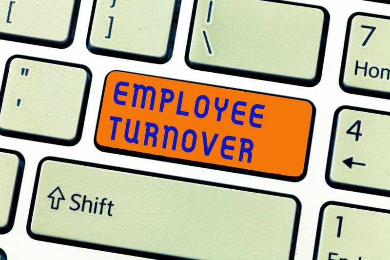 Employee Turnover keyboard button